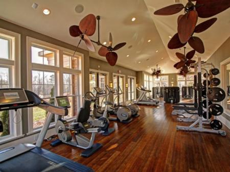 State-of-the-Art Fitness Center | Luxury Apartment Charlotte NC | Alexander Village