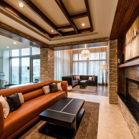Spacious Living Area | Apartments in Bethesda MD | Pallas at PikeRose
