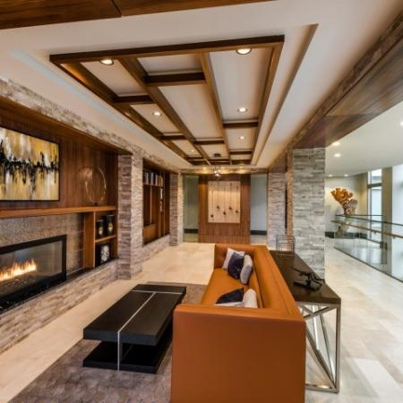 Luxurious Living Area | Bethesda MD Apartments | Pallas at PikeRose