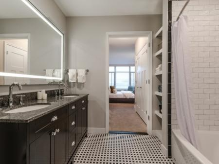 Spacious Bathroom | Apartments For Rent In Bethesda MD | Pallas at PikeRose