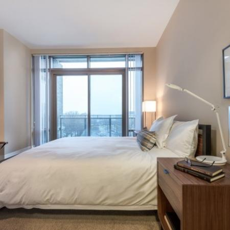 Elegant Bedroom | Apartments For Rent In Bethesda MD | Pallas at PikeRose