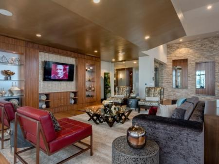 Luxurious Living Room | North Bethesda Apartments | Pallas at PikeRose
