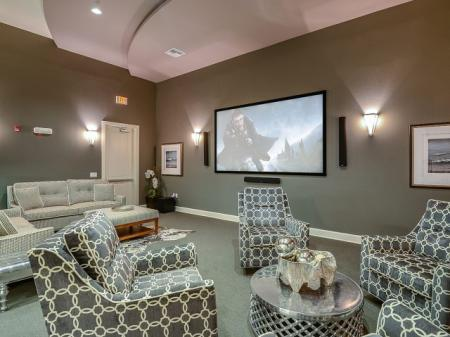 Community Media Room | Apartments In Windermere |