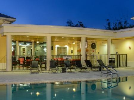 Residents Playing in the Pool | Apartments In Winter Garden |