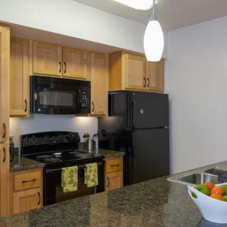 Spacious Kitchen | Eugene Apartments | Crescent Village East