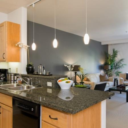 Modern Kitchen | Eugene Apartments For Rent | Crescent Village East