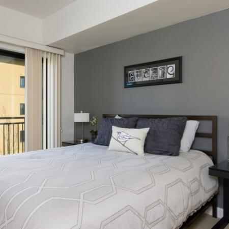 Elegant Bedroom | Eugene Apartments For Rent | Crescent Village East