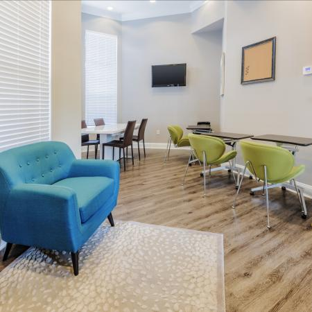 Resident Study Lounge | Apartments For Rent In Charlotte NC | Courtney Ridge