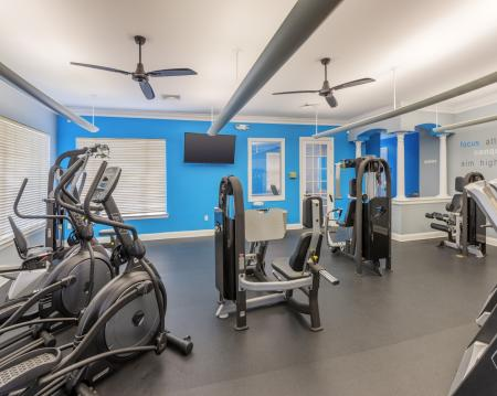 Resident Fitness Center | Apartment For Rent In Charlotte NC | Courtney Ridge