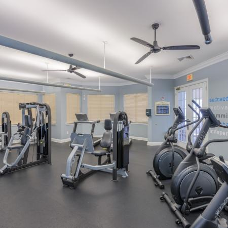 Community Fitness Center | Charlotte Apartment | Courtney Ridge