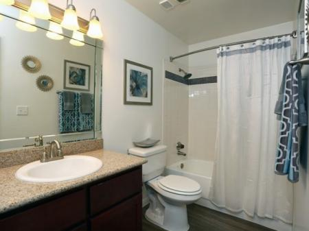 Spacious Bathroom | Apartment For Rent In Austin TX | The Village at Gracy Farms