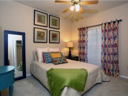 Elegant Bedroom | Apartment For Rent In Austin TX | The Village at Gracy Farms
