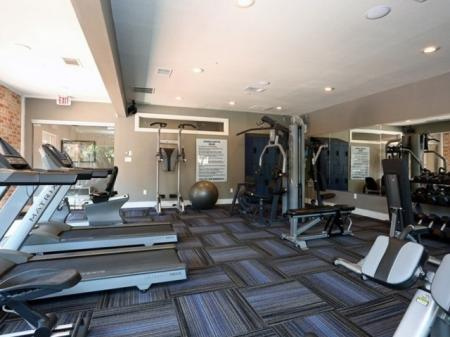 State-of-the-Art Fitness Center | Austin Apt | The Village at Gracy Farms