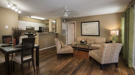Spacious Living Room | Orlando Apartments | Belmont at Park Central