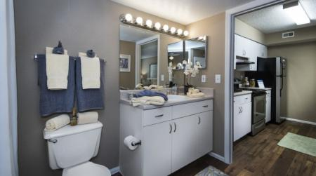 Spacious Bathroom | Orlando Florida Apartments | Belmont at Park Central