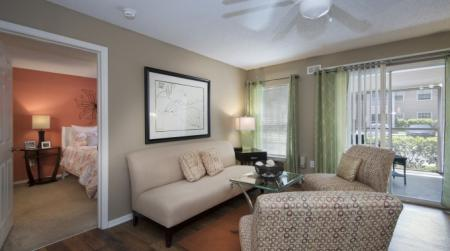 Luxurious Living Room | Apartments In Orlando FL | Belmont at Park Central