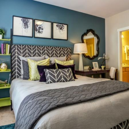 Apex Apartments | Spacious Master Bedroom