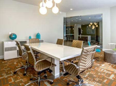 Resident Business Center | Apex Apartments