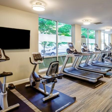 Cutting Edge Fitness Center | Apartments In Tacoma | Apex Apartments