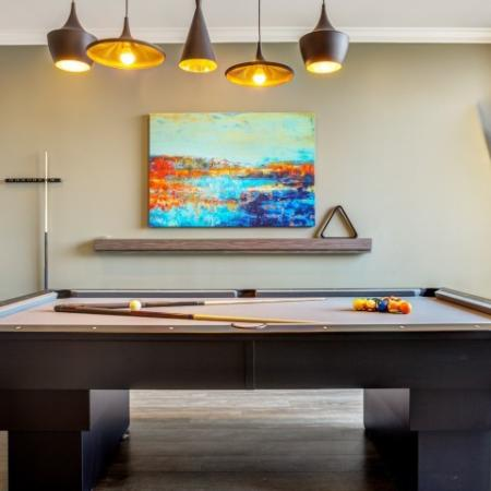 Resident Game Room | Apex Apartments Tacoma |
