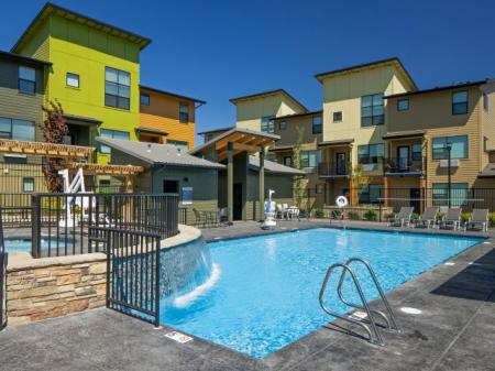 Swimming Pool at Tennyson at Crescent Village