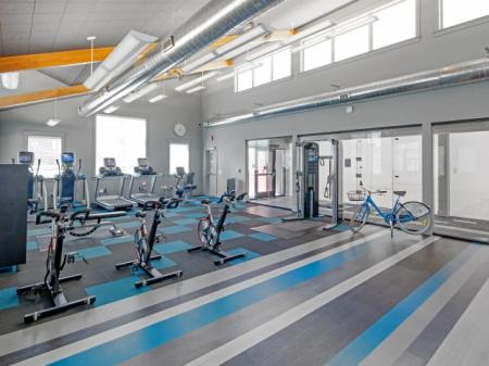 Fitness Center at Tennyson at Crescent Village1