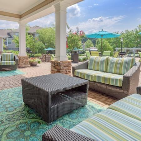 Community Sun Deck | Apartments In Charlotte NC | Courtney Ridge