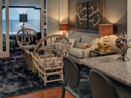 Luxurious Living Area | Apartments In Orlando Florida |