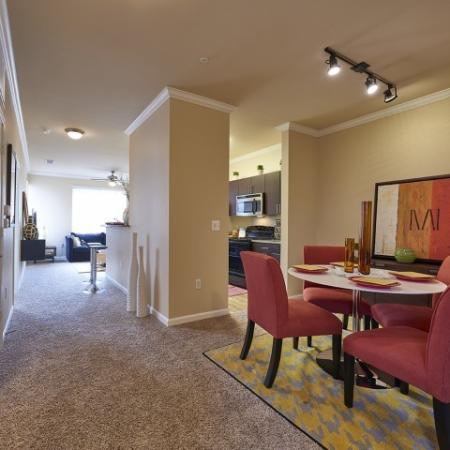 Luxurious Dining Room | Apartments-For-Rent-In-Denver-CO | Cielo