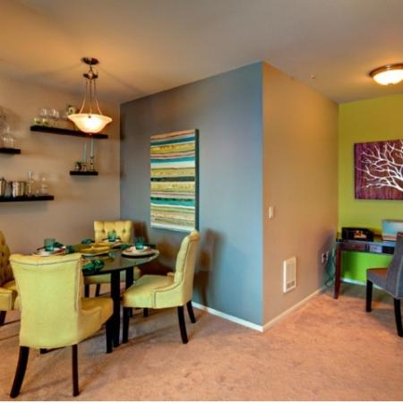 Elegant Dining Room | Apartments For Rent Tacoma WA | Apex Apartments