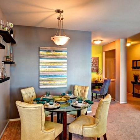 Luxurious Dining Room | Apex Apartments Tacoma |