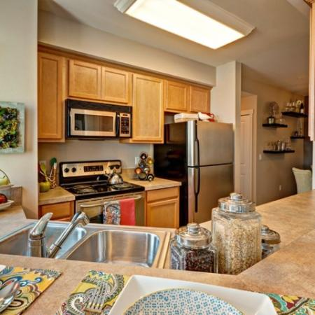 Apex Apartments | State-of-the-Art Kitchen