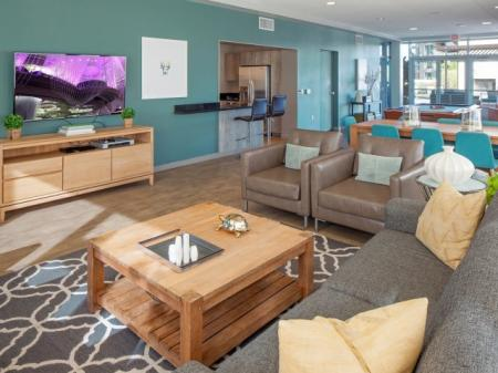 Spacious Resident Club House | Studio Apartment In Portland Oregon | Riva on the Park