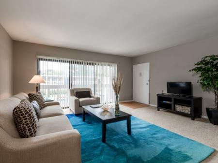 Luxurious Living Room | Luxury Apartments Silver Spring | Rollingwood