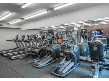 On-site Fitness Center | Apartments North Bethesda MD | PerSei