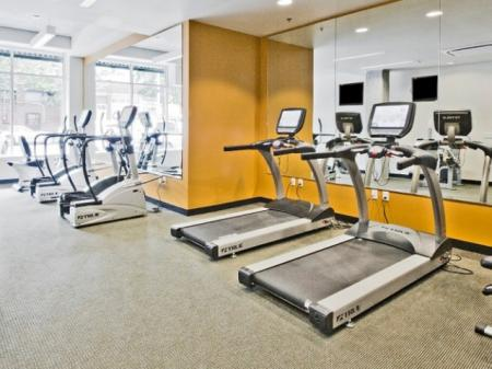 State-of-the-Art Fitness Center | Luxury Apartments Seattle Washington | 206 Bell
