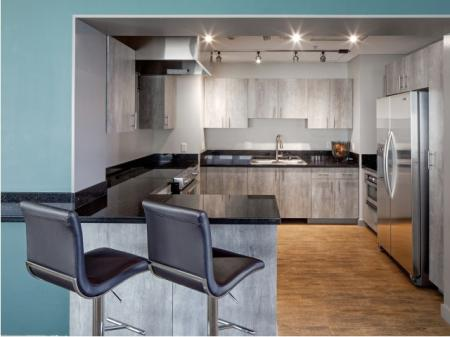 Elegant Kitchen | Apartments in Portland | Riva on the Park apartments