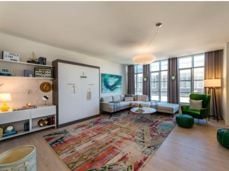 Spacious Living Room | North Bethesda Apartments | The Henri