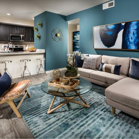 Spacious Living Room | Apartments in Temecula | Solaire