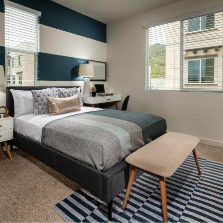Elegant Bedroom | Apartment Homes In Temecula | Solaire