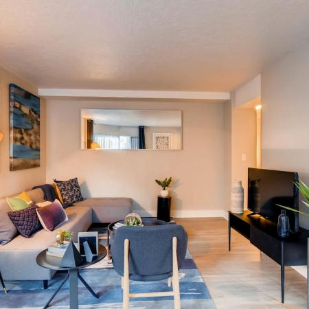 Spacious Living Room | Apartments in Portland | Park Plaza