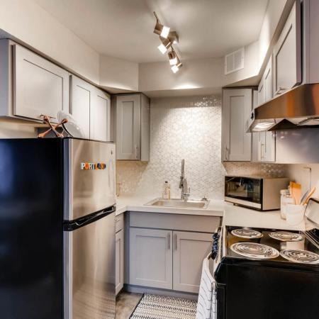 Modern Kitchen | Apartment Homes In Portland | Park Plaza
