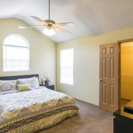 Spacious Master Bedroom | Junction City Kansas Apartments | Patriot Pointe Townhomes