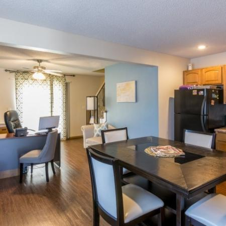 Elegant Dining Room | Junction City Apartments | Patriot Pointe Townhomes