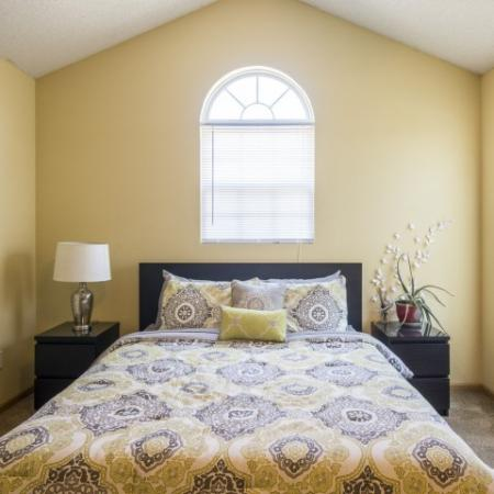 Vast Master Bedroom | Junction City Apartments | Patriot Pointe Townhomes