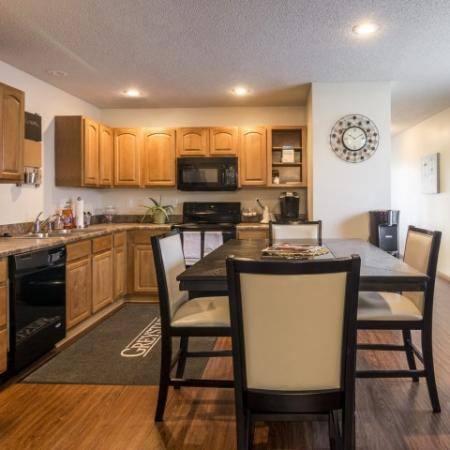 Spacious Dining Room | Apartments in Junction City | Patriot Pointe Townhomes