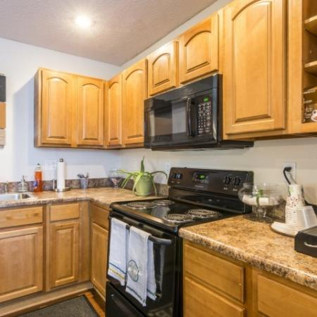 State-of-the-Art Kitchen | Junction City Kansas Apartments | Patriot Pointe Townhomes