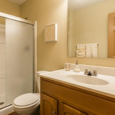 Ornate Bathroom | Apartments in Junction City | Patriot Pointe Townhomes