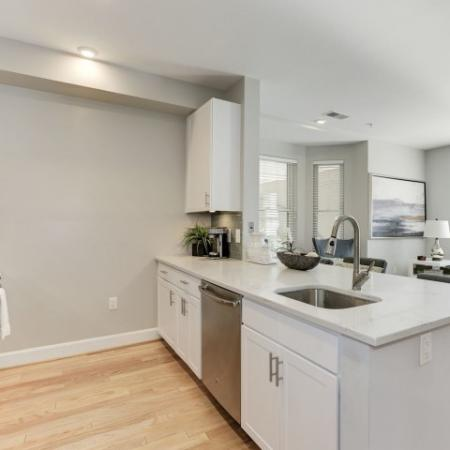 Cook in the Kitchen | Bethesda Luxury Apartments | Upstairs at Bethesda Row