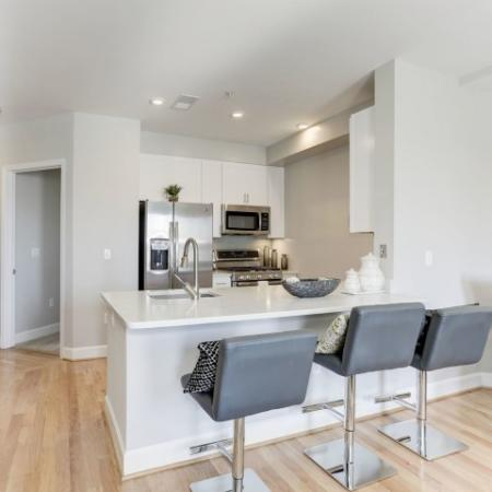 State-of-the-Art Kitchen | Bethesda Luxury Apartments | Upstairs at Bethesda Row